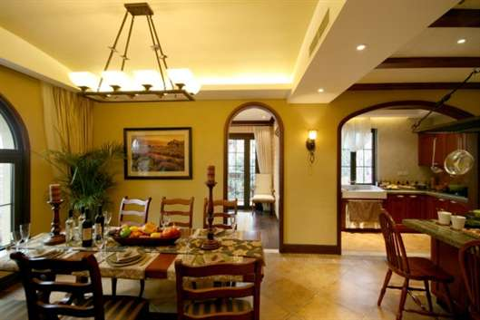 Fascinating Mission Style Lighting Dining Room Images